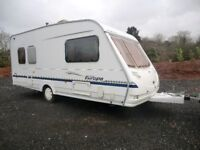 Sterling Europa 500/5 berth touring caravan 2005 in great condition
