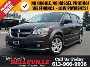 2016 Dodge Grand Caravan Crew - Power Doors - Heated Seats - NAV