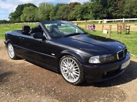 2003 BMW e46 convertible 2l new mot cabriolet might px swap