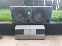 Sub-woofer and amp