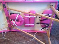 'Tahiti' Pink Massage Couch