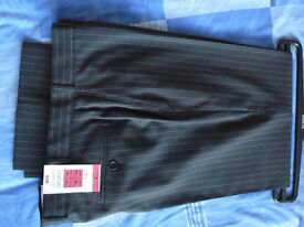 """Marks and Spencer - Wool Blend Trousers - Size 36"""" Waist 31"""" Inside Leg - Brand New"""