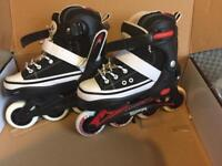 SFR in-line roller boots