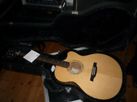 PRS SE Alex Lifeson Signature Thinline Electro Acoustic Guitar + Orig' Case. Paul Reed Smith Angelus