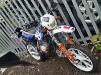 125 reg as 50. dirt bike. road legal. supermoto. not pitbike ktm yamaha suzuki honda motorcross