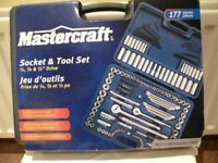 177 piece Socket and tool set