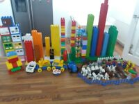 More than 230 pieces of Lego Duplo Farm and Zoo - bargain price just £30!
