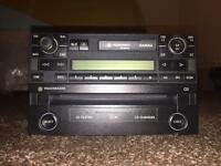 VW stereo player