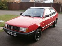 1994 VW POLO COUPE RED 1 LITRE 4 SPEED SERVICE HISTORY MOT