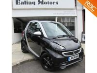 2014 SMART FORTWO GRANDSTYLE TURBO 84BHP,CONVERTIBLE,AUTO,PETROL,SATNAV,LEATHER,BLUETOOTH,AC,CD
