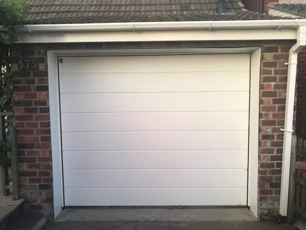 Hrmann Sectional Garage Door White In Wallsend Tyne And Wear
