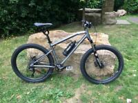 Awesome Gtech Escent Electric Bike E MTB with 2 Batteries