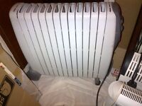 powerful 3kW de Longhi Rapid oil radiator heater in excellent condition can deliver