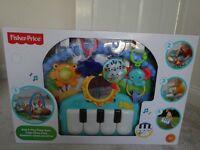 BRAND NEW FISHER PRICE KICK & PLAY PIANO GYM