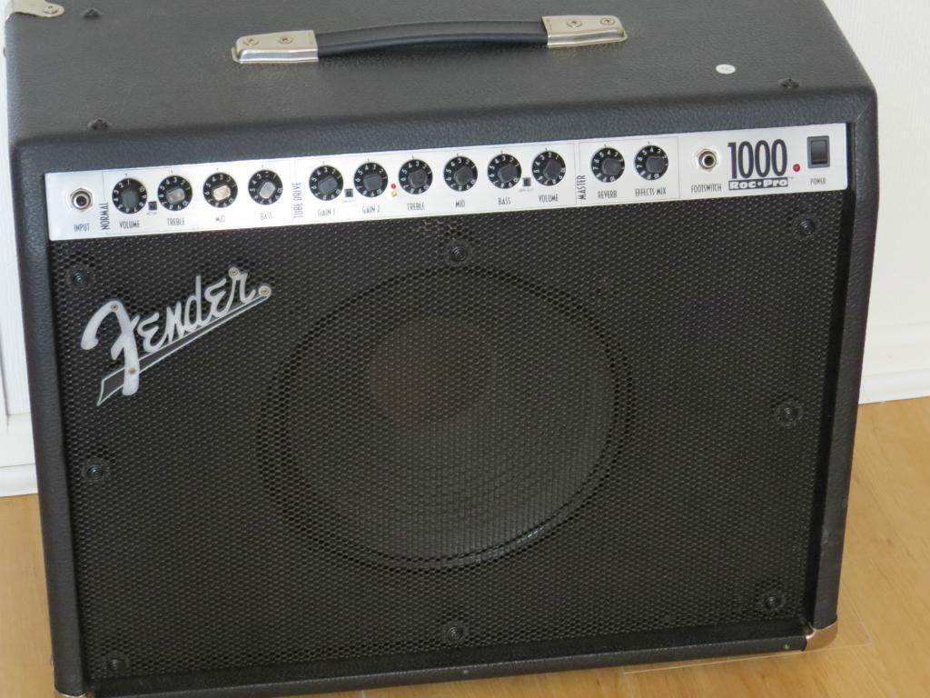 Fender Roc Pro 1000 Combo Guitar Amp Fender Roc Pro 100w Combo Amp