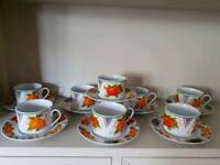 ROYAL Norfolk cups and saucers