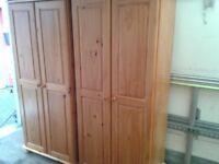 wardrobe pine