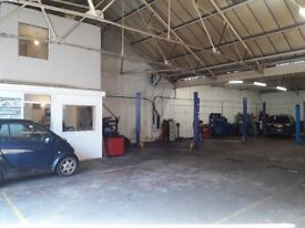 MOT Class 4,5 and 7 & Garage Station In Park Royal for sale £ 80.000