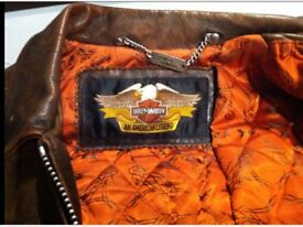 Check out prices on HARLEY DAVIDSON clothes...Bargain .£179....Size 40/42-Med.Lovely Conditon