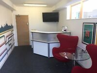 Luxury desk space available in our office moments from Golders Green Station