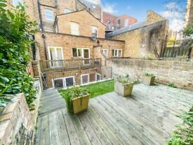 Spacious newly refurbished one bed home with patio and garden ideally located in Islington N1