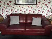 3 & 2 piece suite & footstool