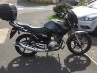 Yamaha YBR125 motorbike 13 reg