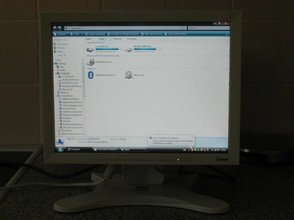iiYama 14 inch touchscreen monitor | in Clydebank, West Dunbartonshire |  Gumtree