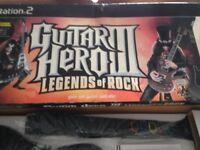 Guitar hero 111 legends of rock ps2