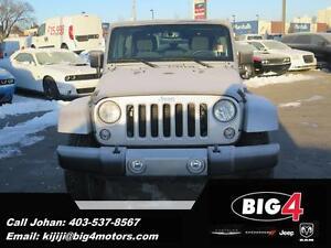 2016 Jeep Wrangler Unlimited Sahara, DEMO, Low KMs, Bluetooth