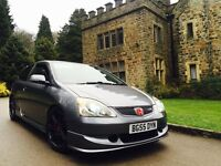 2006 55 Honda Civic 2.0 iVTEC Type R Premier Edition,k20,ep3,Type R,LOW MILEAGE,HPI CLEAR,COSMICGREY