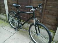 BLACK MOUNTAIN BIKE, 26, ALLOY WHEELS, GOOD TYRES