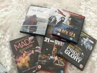 COLLECTION OF DVDS SOME BRAND NEW