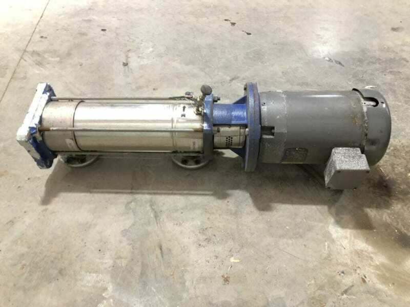 Goulds SSV 3SVC1L5J0 10HP Multi-Stage Booster Pump 208-230/460V 3450RPM 360PSI