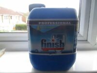 Finish professional dish washer detergent 5lts