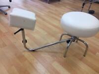 Pedicure foot stool
