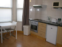 099T- DOUBLE STUDIO FLAT, GOOD LOCATION, FURNISHED, BILLS INCLUDED EXCEPT ELECTRICITY - £260 WEEK