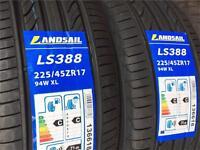 225/45/17 94W XL BRAND NEW TYRE LANDSAIL