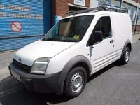 2004 FORD TRANSIT CONNECT 18TD T200 PANEL VAN YEAR MOT ROOF RACK SECURITY LOCK EXCELLENT RUNNER