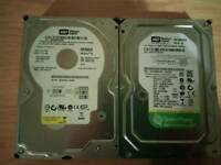 2 hard drives