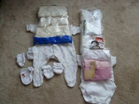 Baby grows and sleepsuits - newborn