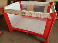 Fisher Price deluxe travel cot