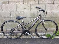 Raleigh Urban 1 custom fast commute bicycle