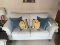 John Lewis Sofa Bed, duck egg blue, excellent condition