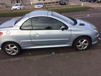 Peugeot 206cc Automatic only 38,000 miles