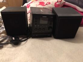 CD MP3 micro system with IPOD Dock