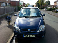 Renault Scenic Expression 1.6 Runs, Drives OK (Sellin As Spare/Repair Due 2 Short MOT HENCE PRICE)