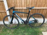 Boardman team hybrid bike medium frame