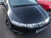 Honda Civic 1.4 i-DSI SE 5dr Black 2007 NEW 12 MONTHS MOT £1795