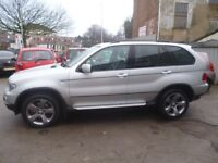 BMW X5 3.0D Sport,2993 cc 4x4,black heated leather seats,Sat Tv,all the extras,ready for winter